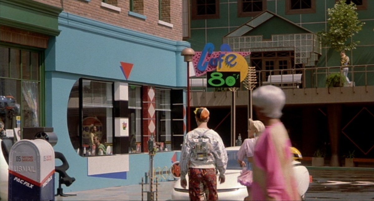 Predicciones de comida en Back to the Future 0